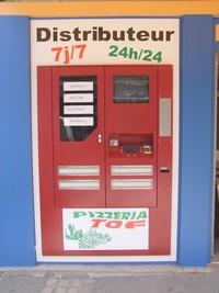 Pizzas TOF : 2 distributeurs de pizzas fraîches à votre disposition à Gex et à Divonne les Bains (Pays de Gex)