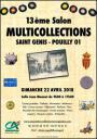 ACG : Salon Multicollections à St Genis Pouilly le dimanche 22 avril 2018