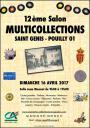 ACG : Salon Multicollections à St Genis Pouilly le dimanche 16 avril 2017