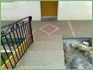 Escalier en béton désactivé (après)