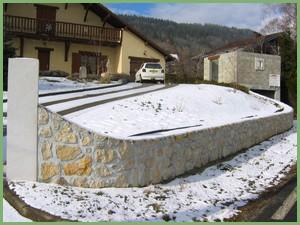 Mur en pierres de Hauteville (après)