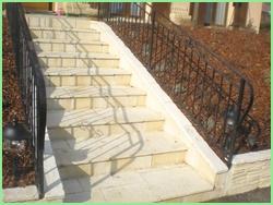 Murs, piliers et escaliers